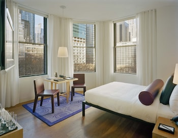 Guestroom at The Bryant Park Hotel in New York