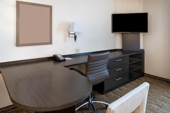 Studio Suite, 1 Queen Bed, Accessible (Mobil Tub)