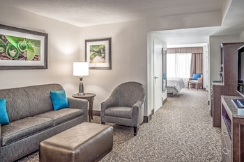 Junior Suite, One King and One Sofa Bed