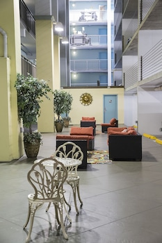 Lobby Sitting Area at Grande Shores Ocean Resort in Myrtle Beach