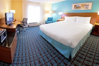 Standard Suite, 1 King Bed with Double Sofa Bed at Fairfield Inn By Marriott Salt Lake City South in Salt Lake City