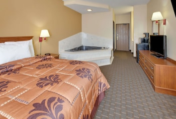 Guestroom at Days Inn by Wyndham Mesquite Rodeo TX in Mesquite