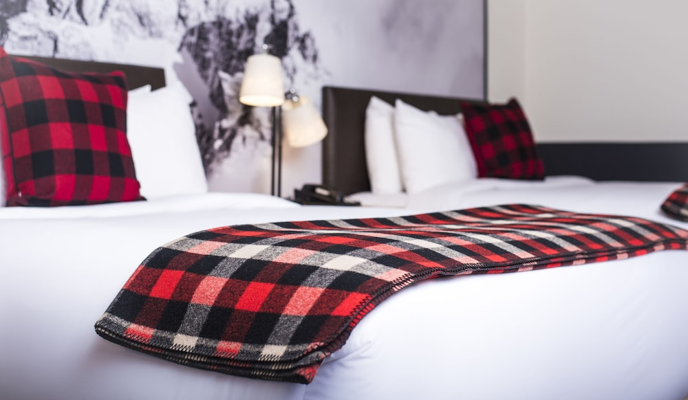 Photo of guest room at Mountain Modern Motel in Jackson, Wyoming