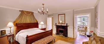 Guestroom at Wentworth Mansion in Charleston