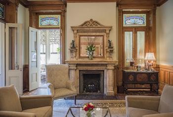 Guestroom at Wentworth Mansion in Charleston