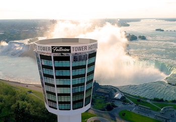 Book The Tower Hotel in Niagara Falls.