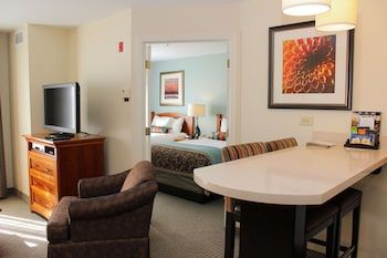 Suite, 2 Double Beds (One Bedroom)