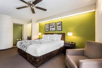 Guestroom at Sleep Inn Charleston in Charleston