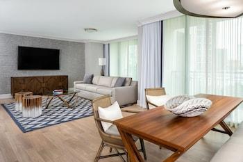 Executive Suite, 1 Bedroom, Non Smoking, Balcony