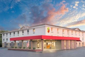 特雷霍特溫德姆速 8 飯店 Super 8 by Wyndham Terre Haute