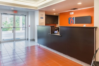 Lobby at Motel 6 Dallas DFW Airport North in Irving