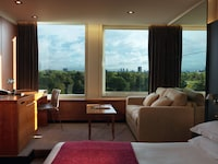 Deluxe Room, 1 King Bed, Garden View, Garden Area