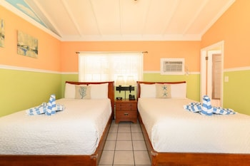 Standard Room, 2 Double Beds, Nonsmoking, Private Bathroom