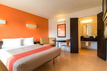 Premium Room, 1 Double Bed, Accessible, Refrigerator (Roll-In Shower)
