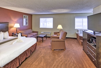 Suite, 1 King Bed, Non-smoking