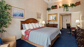 Executive Room, 1 King Bed, Non Smoking, Fireplace