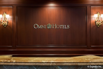 Reception at Omni San Francisco Hotel in San Francisco