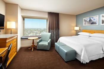 City Room, 1 King Bed, Non Smoking, City View