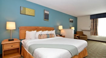 Standard Room, 1 King Bed with Sofa bed, Non Smoking, Refrigerator & Microwave (with Sofabed)