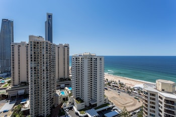 View from Hotel at Mantra Legends Hotel in Surfers Paradise