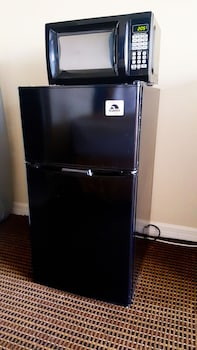 Mini-Refrigerator at Amber Inn & Suites in Kissimmee