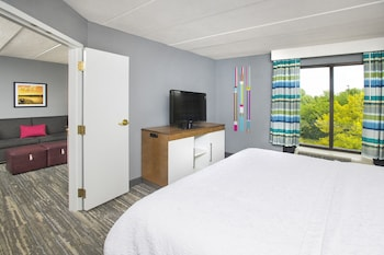 Suite, 1 Bedroom, Accessible, Kitchen (Roll-in Shower)