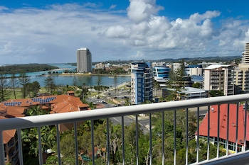 Balcony View at Greenmount Hotel in Coolangatta