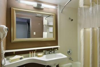 Bathroom at Fremont Hotel & Casino in Las Vegas