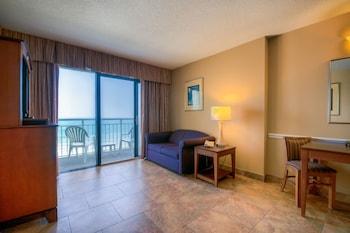 Guestroom at Ocean Drive Beach & Golf Resort in North Myrtle Beach