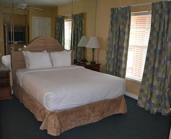 Studio, 1 Queen Bed with Sofa bed