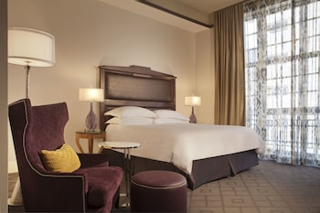 Guestroom at The Ashton Hotel in Fort Worth
