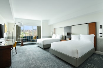 Room, 2 Double Beds, View