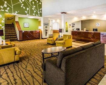 Lobby at Sleep Inn & Suites Orlando International Airport in Orlando