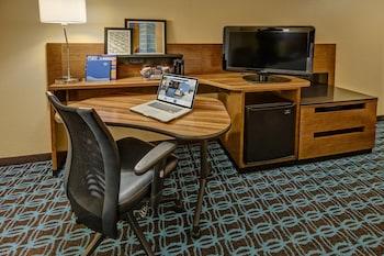 Guestroom at Fairfield Inn & Suites by Marriott Near Universal Orlando in Orlando