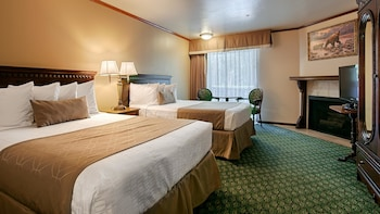 Standard Room, 2 Double Beds, Non Smoking, Balcony