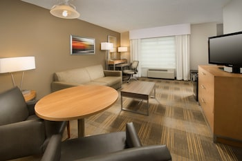 Junior Suite, 1 King Bed (Additional Living Area)