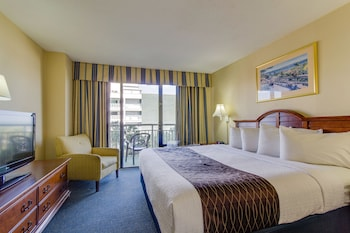 Guestroom at The Patricia Grand by Oceana Resorts in Myrtle Beach