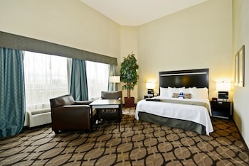 Suite, 1 King Bed, Non Smoking, Microwave