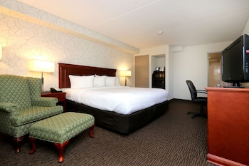 Executive Room, 1 King Bed, Non Smoking, Refrigerator & Microwave (Oversized Room)