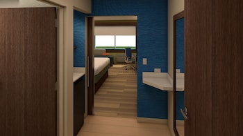 Guestroom at Holiday Inn Express & Suites Orlando-South Lake Buena Vista in Kissimmee