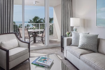 Suite, 1 Bedroom, Hearing Accessible, Gulf & Garden View