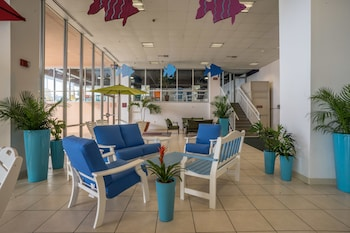 Lobby Sitting Area at Grand Hotel & Spa in Ocean City