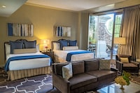 Executive Two Queen Suite with Patio