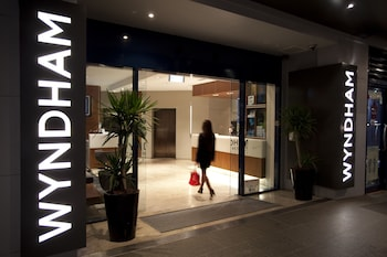 Hotel Entrance at Wyndham Sydney Suites in Sydney