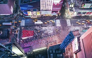 Balcony View at W New York - Times Square in New York