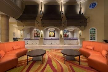 Lobby at Marriott's Grande Vista in Orlando