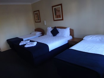 Guestroom at WM Hotel Bankstown in Bass Hill