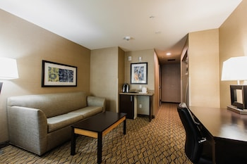 Suite, 1 King Bed, Accessible, Non Smoking (Hearing, Mobility)