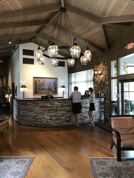 Lobby at Arnold Palmer's Bay Hill Club & Lodge in Orlando