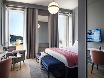 Villa Odak Deluxe Double Room Sea View, Terrace